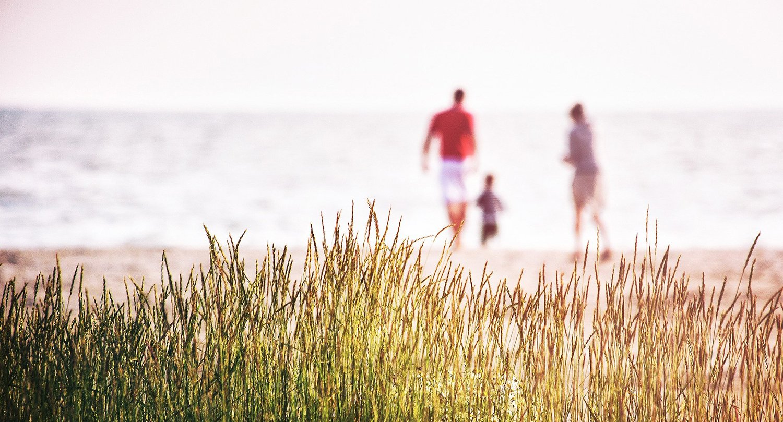 Familie in der Natur