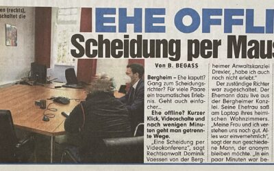 """BILD-Zeitung berichtet über unsere """"Online-Scheidung"""""""